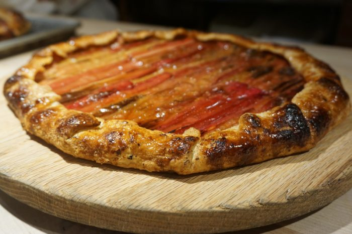 Chez Panisse's Rhubarb Galette by Carrie Lewis