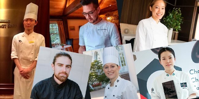 Six pastry chefs confirmed for the American semi final of Valrhona's C3