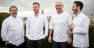 Pierre Hermé, Yann Couvreur, Angelo Musa, Cédric Grolet