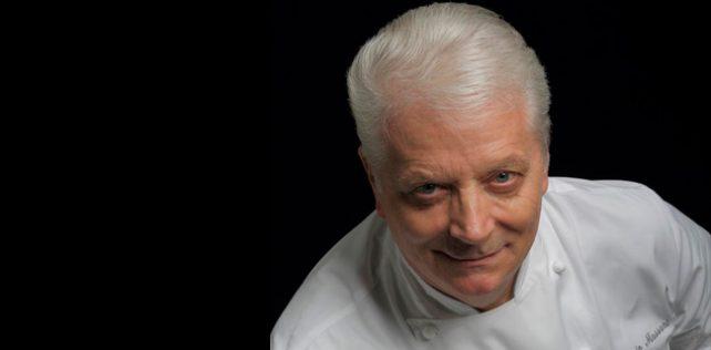 Iginio Massari prepares a pastry event for Host 2019
