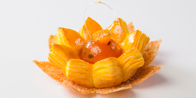 Passion fruit Danish dough Lotus by Angelo Vantoorn