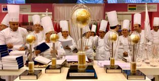Trophies and chefs
