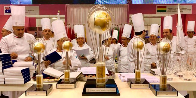 The FIPGC World Pastry Championship 2019, contended among 16 countries