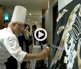 Hironobu Tsujiguchi's chocolates in a documentary