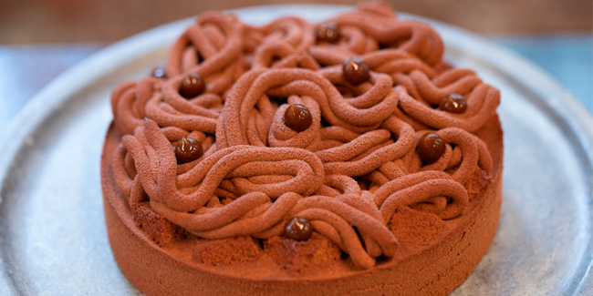 Alpaco chocolate and coffee entremet by Patrice Demers