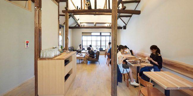Dandelion Chocolate Kyoto has an interior design award