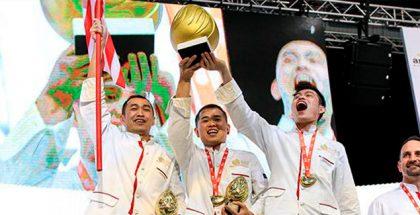 Malaysia pastry team last year winner
