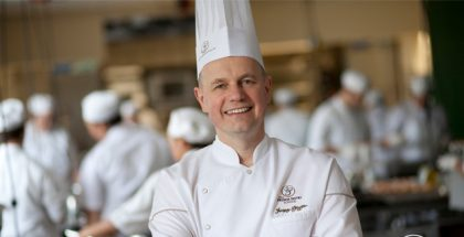 Jacquy Pfeiffer at the French Pastry School