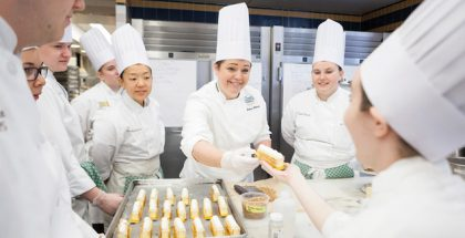 Melissa Walnock at the Culinary Institute of America