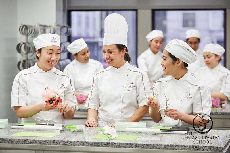 Students at the French Pastry School