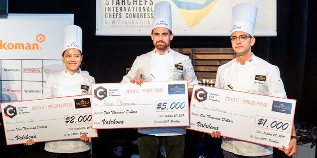 Valrhona's C3 Chocolate Chef Competition Announces its North American Winner