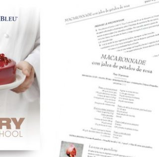 """100 recipes by Le Cordon Bleu in the book, """"The Pastry School"""""""