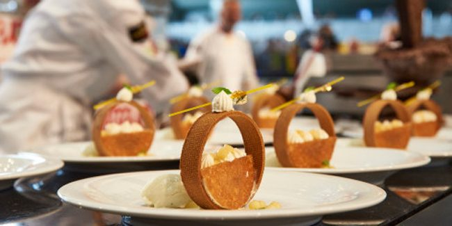 The Coupe Europe de la Pâtisserie, focused on nature, contested between four countries
