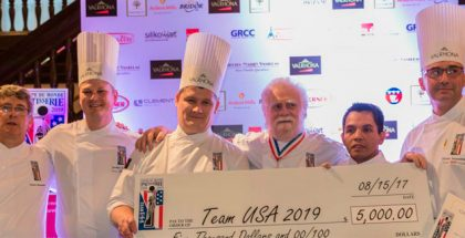 The USA pastry team
