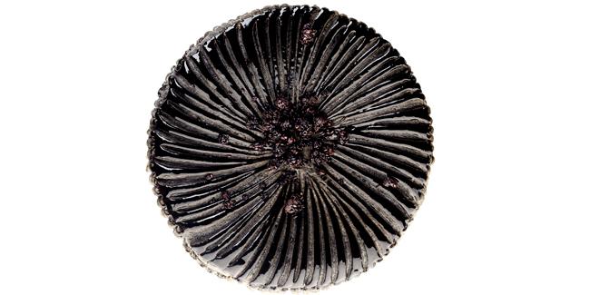 Black Sesame Galette des Rois by Cédric Grolet