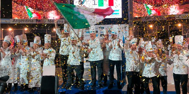 Italy returns to the top of the podium of the Ice Cream World Cup
