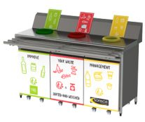 Sofinor waste sorting unit
