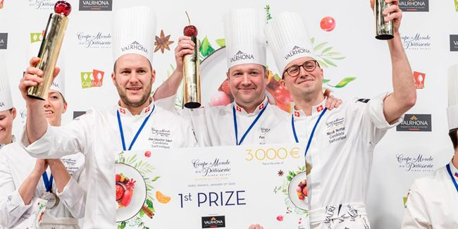 Switzerland wins the European Pastry Cup