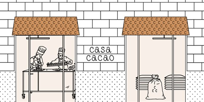 Casa Cacao, the trip arrives at its destination