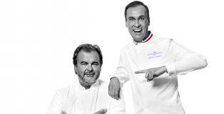 Pierre Hermé and Nicolas Cloiseau