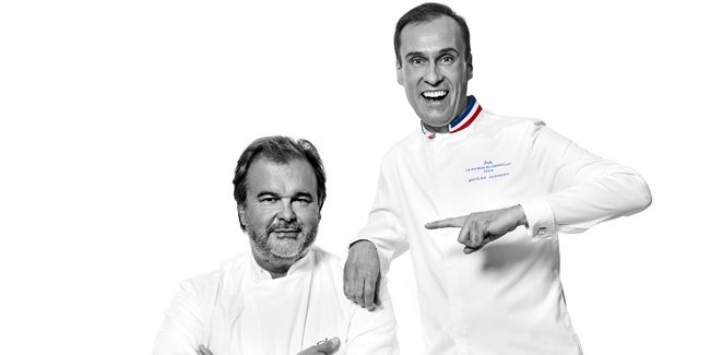Pierre Hermé, invited by La Maison du Chocolat as chef in residence