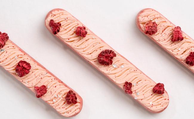 Raspberry Cheesecake by Russ Thayer