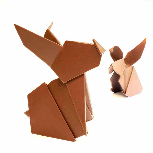 Joris Vanhee origami easter animals