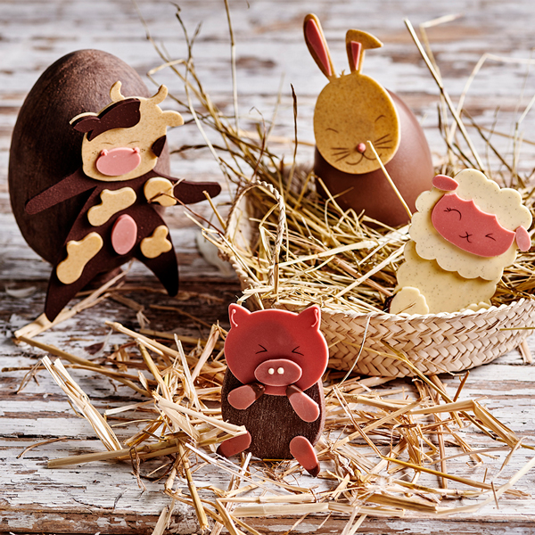 Easter eggs by Lenôtre