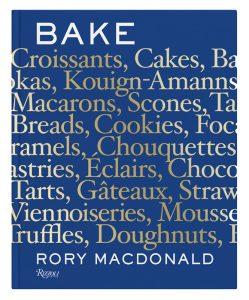 Rory Macdonald's book: Bake