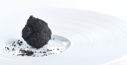 Chocolate truffle with coffee by Marco d'Andrea