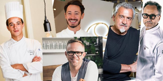 The International Academy of Gastronomy recognizes five European pastry chefs