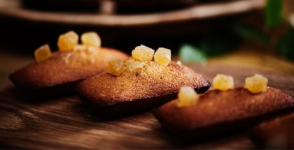 Lemon-Ginger Financier by Jean-Christophe Jeanson