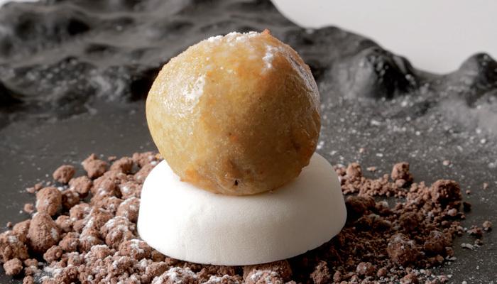 Jordi Guillem's fried ice cream