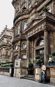 Balmoral hotel facade