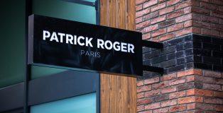 Patrick Roger's shop sign