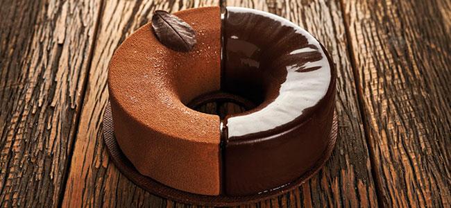 Creamy chocolate and orange tart by Luciano García