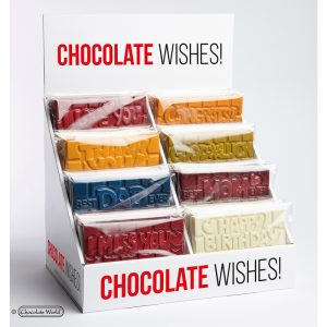 Word chocolate molds