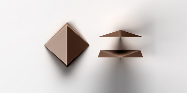 Dandelion and Tesla Create 3D Geometric Chocolate Chips