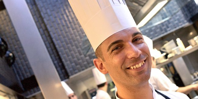 Xavi Donnay, chosen as the best pastry chef at The Best Chef Awards 2020