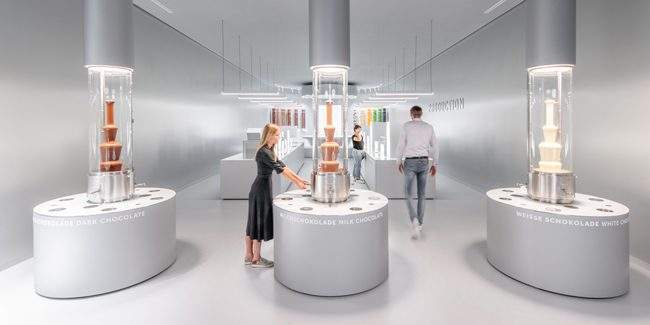 Lindt Home of Chocolate, a spectacular new chocolate research center in Switzerland