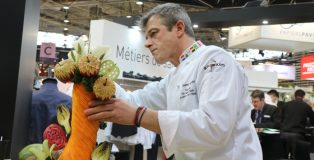 Pastry competition at Sirha