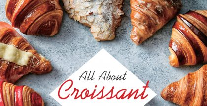 All about croissant book cover