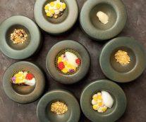 Rosemary, pineapple, soy sauce, chestnut honey, pine nut by Alexei Grebenshchikov step by step