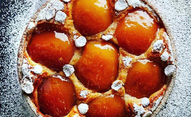 Apple tart by Jacquy Pfeiffer