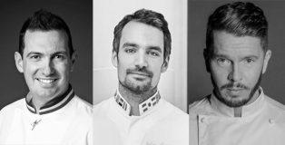 Yann Brys, Julien Alvares and Johan Martin