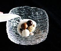 Cold serve platted dessert by Sean Considine