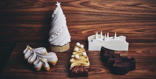 Yann Brys Christmas Log collection