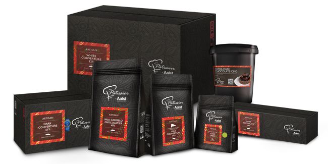 Aalst Chocolate renews the Pâtissier Chocolate packaging
