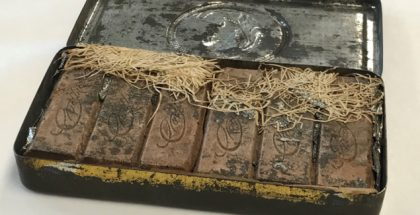 Old Chocolate box