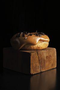 Doughnut with dulce de leche by Luciano Garcia